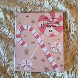 Too Faced peppermint mocha authentic